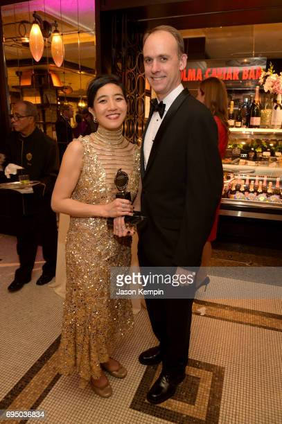 Tony Award winner Mimi Lien attends the 2017 Tony Awards Gala at The Plaza Hotel on June 11 2017 in New York City