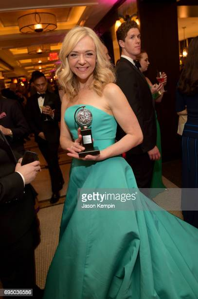 Tony Award winner Rachel Bay Jones attends the 2017 Tony Awards Gala at The Plaza Hotel on June 11 2017 in New York City