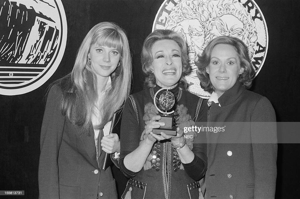 Tony Awards 'Nominee Reception' Pictured Featured Actress in a play Nominee Blythe Danner Featured Actress in a Play nominee Eileen Heckart Lead...