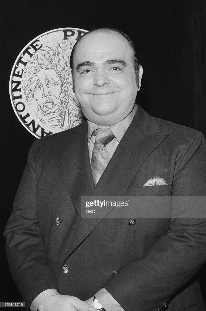 Tony Awards -- 'Nominee Reception' -- Pictured: Lead Actor in a Play nominee James Coco during the nominee reception for the 24th Tony Awards in 1970 --