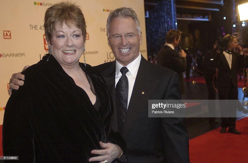 Tony Barber and guest arriving on the red carpet for the 45th Annual TV Week Logie Awards 2003 held at the Crown Casino Melbourne Australia