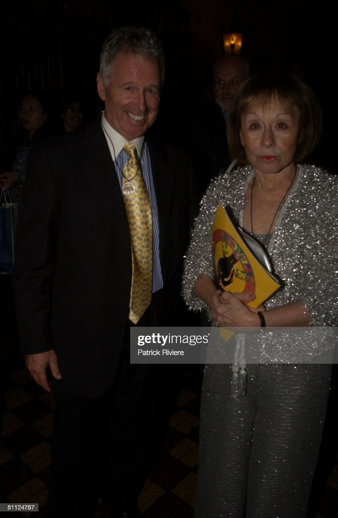 Tony Barber and Jeanne Pratt at the opening night of the rock musical 'Hair' at the Capitol Theatre in Sydney