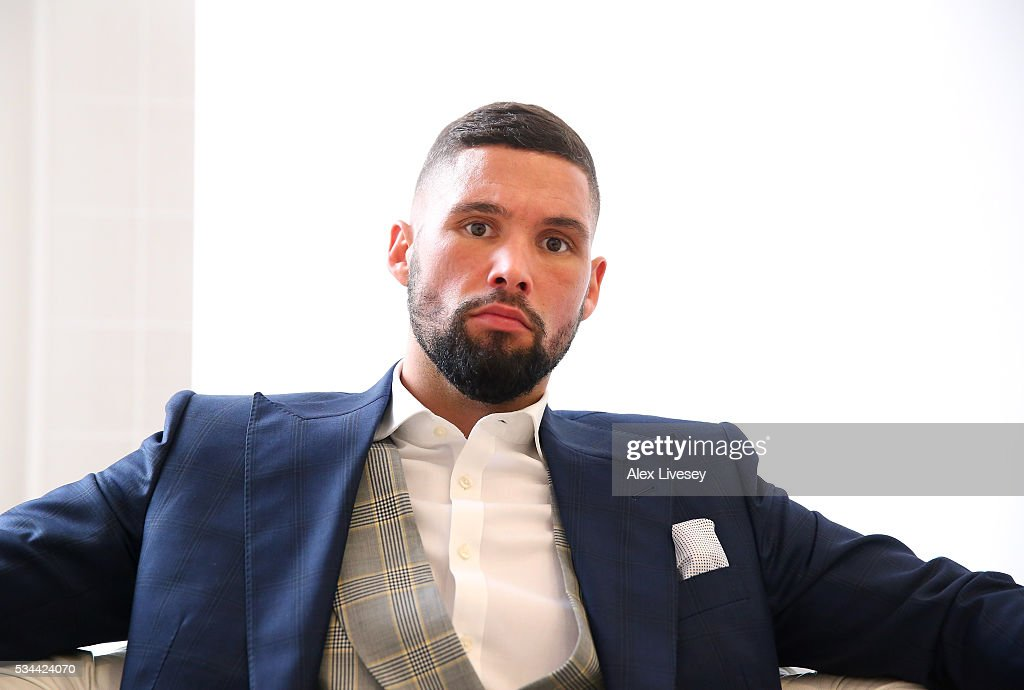<a gi-track='captionPersonalityLinkClicked' href=/galleries/search?phrase=Tony+Bellew&family=editorial&specificpeople=2132983 ng-click='$event.stopPropagation()'>Tony Bellew</a> poses for a portrait after going head to head with Ilunga Makabu during a press conference at the Royal Liver Building on May 26, 2016 in Liverpool, England.