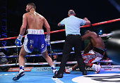 Tony Bellew stops Illunga Makabu in the second round to win the Vacant WBC World Cruiserweight Championship fight between Tony Bellew and Illunga...