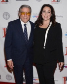 Tony Bennett and Johanna Bennett attend the closing night awards during the 2013 First Time Fest at THE PLAYERS on March 4 2013 in New York City