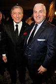 Tony Bennett and Mitch Winehouse attend the 2013 Amy Winehouse Foundation Inspiration Awards and Gala at The Waldorf=Astoria on March 21 2013 in New...