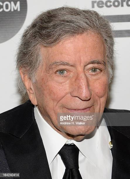 Tony Bennett attends the 2013 Amy Winehouse Foundation Inspiration Awards and Gala at The Waldorf=Astoria on March 21 2013 in New York City