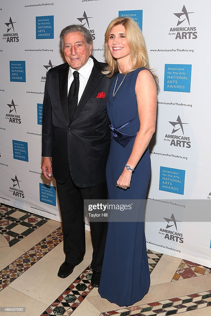 Tony Bennett attends the 2015 National Arts Awards at Cipriani 42nd Street on October 19, 2015 in New York City.