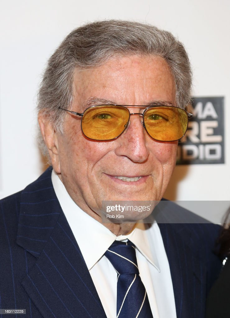 <a gi-track='captionPersonalityLinkClicked' href=/galleries/search?phrase=Tony+Bennett+-+Singer&family=editorial&specificpeople=160951 ng-click='$event.stopPropagation()'>Tony Bennett</a> attends the closing night awards during the 2013 First Time Fest at The Players Club on March 4, 2013 in New York City.