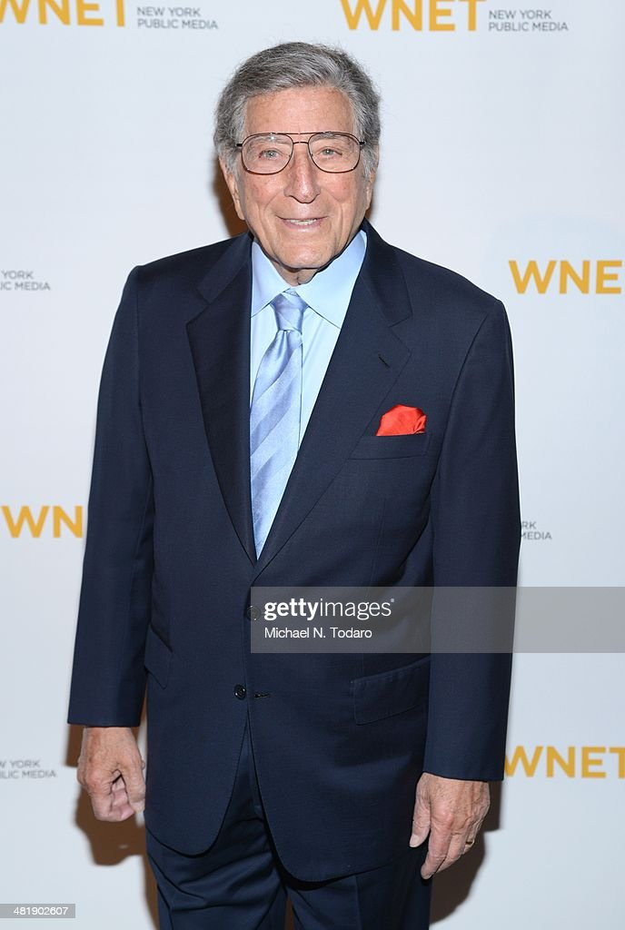 <a gi-track='captionPersonalityLinkClicked' href=/galleries/search?phrase=Tony+Bennett+-+Singer&family=editorial&specificpeople=160951 ng-click='$event.stopPropagation()'>Tony Bennett</a> attends the WNET 2014 Gala at Cipriani 42nd Street on April 1, 2014 in New York City.