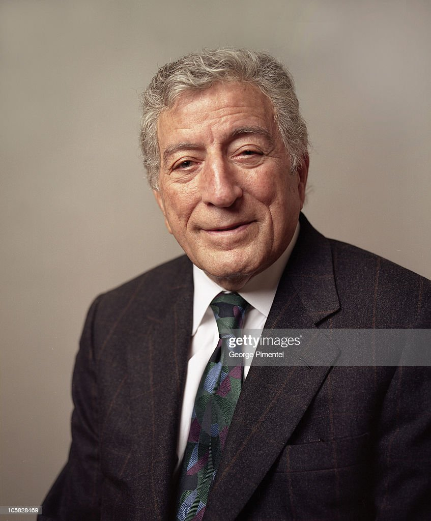 Tony Bennett during Tony Bennett Portraits Photographed Oct 6, 2004 at Fours Seasons ... Show more - tony-bennett-during-tony-bennett-portraits-photographed-oct-6-2004-at-picture-id105828469