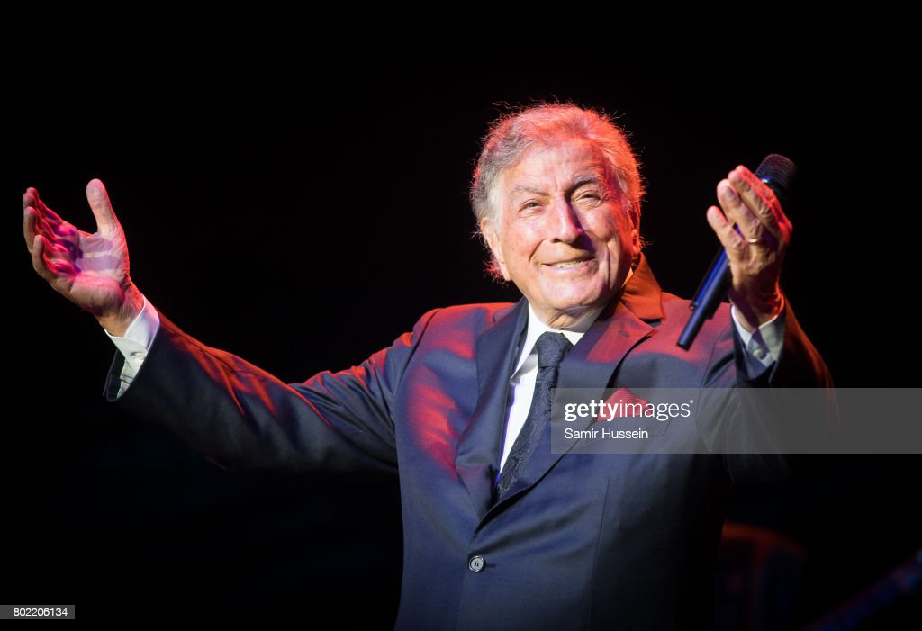 Tony Bennett performs at Royal Albert Hall on June 27, 2017 in London, England.