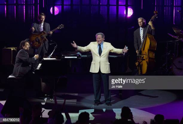 Tony Bennett performs on stage for iTunes Festival at The Roundhouse on September 6 2014 in London United Kingdom