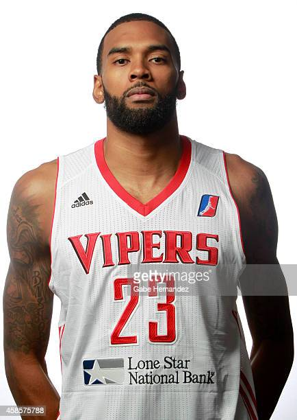 Tony Bishop of the Rio Grande Valley Vipers poses for a photos during media day on Nov 6 2014 State Farm Arena in Hidalgo Texas NOTE TO USER User...