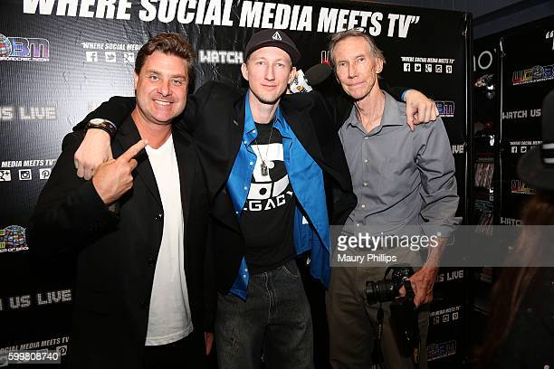 Tony Boldi Eric and James Zuley attend EZ Talk Live on September 6 2016 in Hollywood California