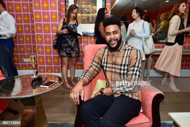 Tony Bowles attends the launch of The Collector Geneva's Sophie Bonvin Code Collection in Collaboration with artist Bill Claps at Crosby Street Hotel...
