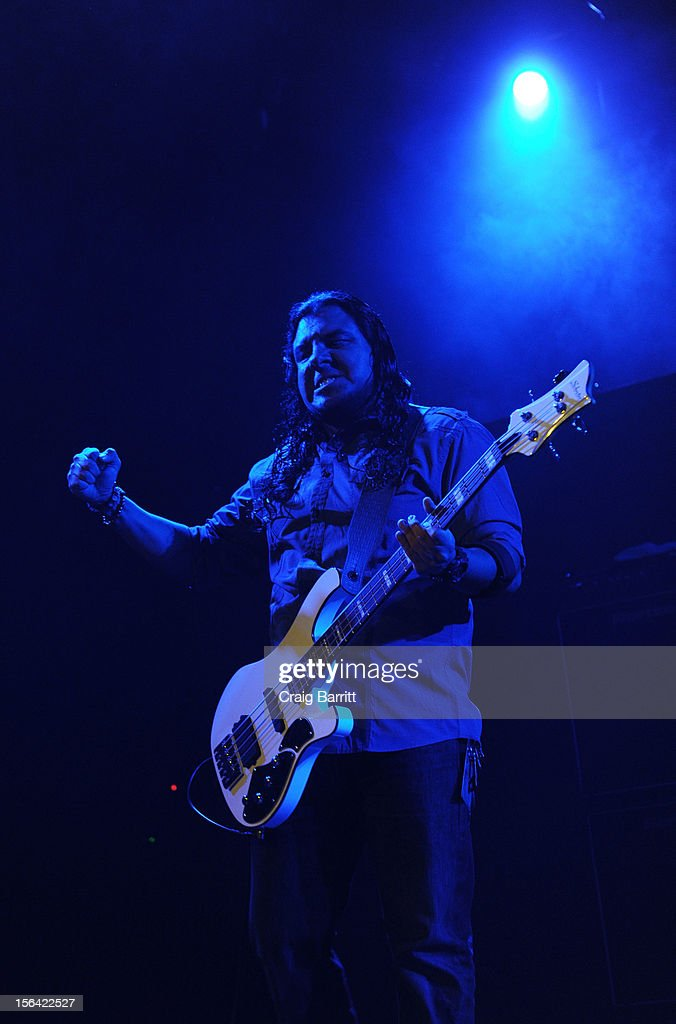 Tony Castaneda of the band KYNG performs at the Best Buy Theatre on November 14, 2012 in New York City.