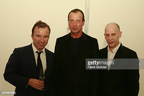 Tony Chambers Helmut Lang and Adrian Joffe attend LOUIS XIII Celebrates WALLPAPER'S Guest Editor LOUISE BOURGEOISE with HELMUT LANG at Cheim Reid and...