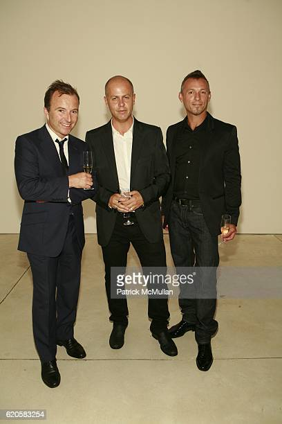 Tony Chambers Italo Zucchelli and Quin Aluni attend LOUIS XIII Celebrates WALLPAPER'S Guest Editor LOUISE BOURGEOISE with HELMUT LANG at Cheim Reid...