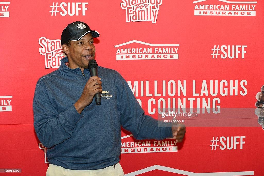 Tony Cornelius speaks at the First Annual Soul Train Celebrity Golf Invitational on November 9, 2012 in Las Vegas, Nevada.