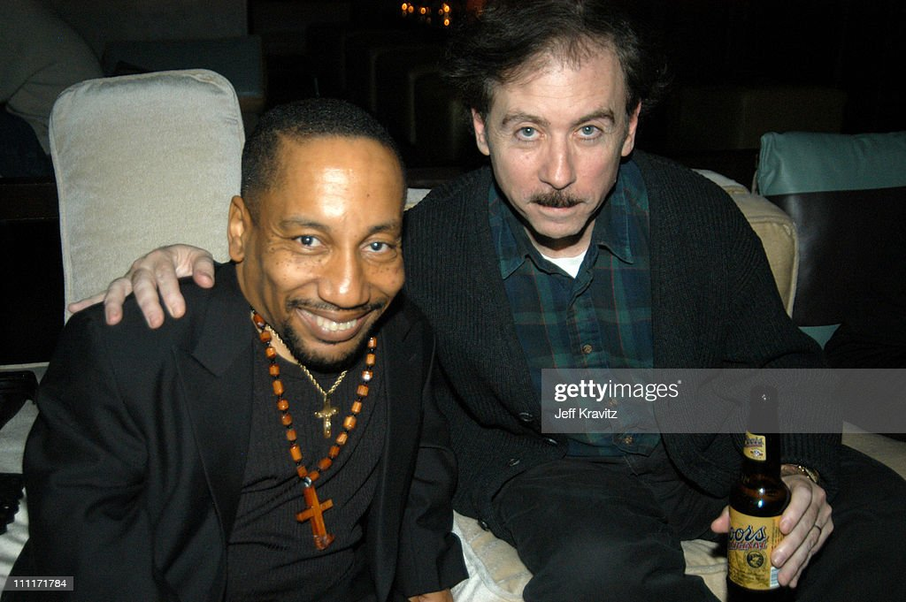 Tony Cox and Terry Zwigoff during 'Bad Santa' - Los Angeles Premiere and After-Party at Bruin Theater in Westwood, California, United States.