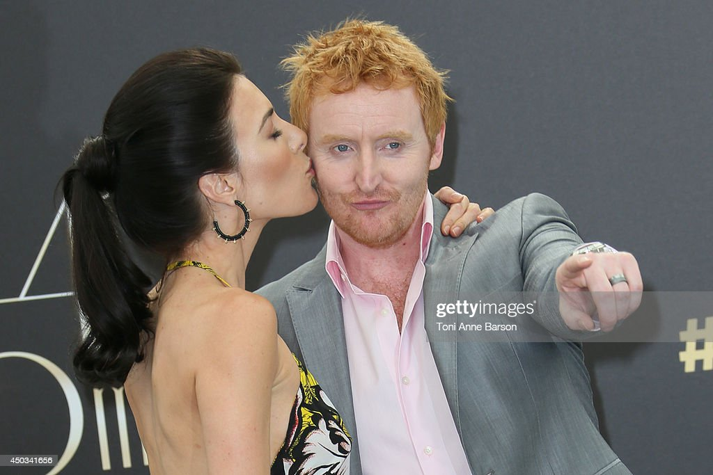 Tony Curran and Jaime Murray attend 'Defiance' photocall at the Grimaldi Forum on June 9 2014 in MonteCarlo Monaco