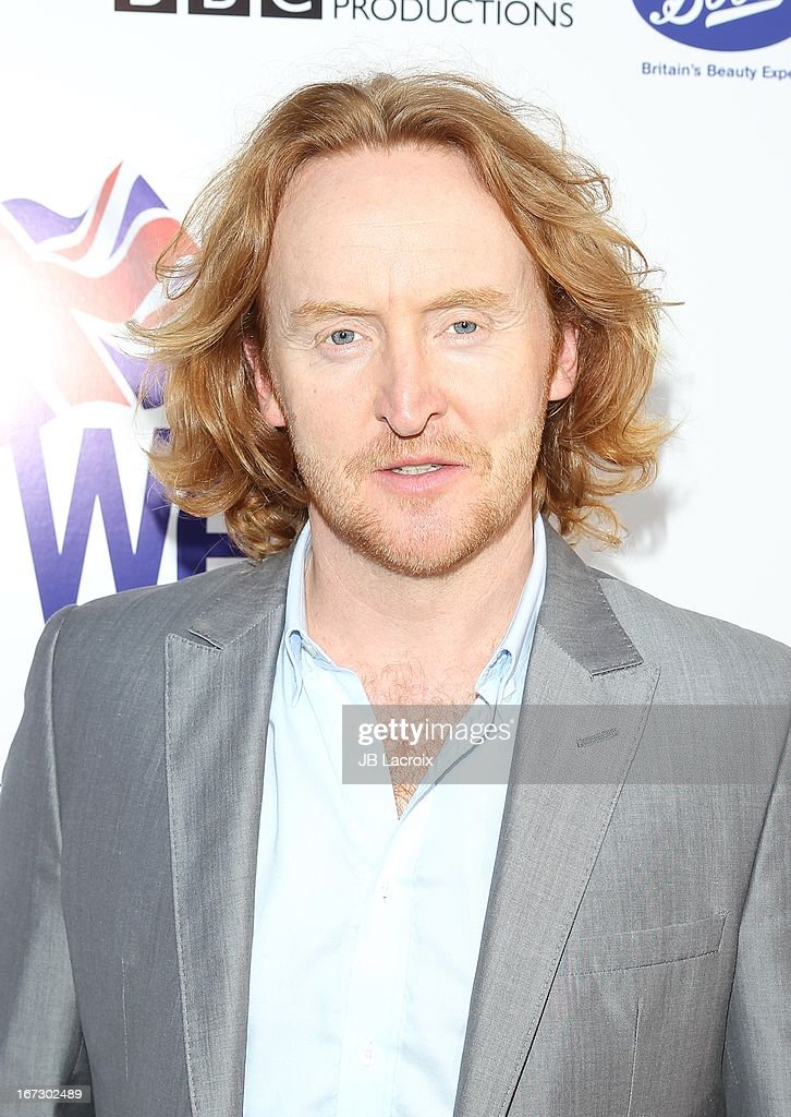 Tony Curran attends the 7th Annual BritWeek Festival 'A Salute To Old Hollywood' launch party held at The British Residence on April 23, 2013 in Los Angeles, California.