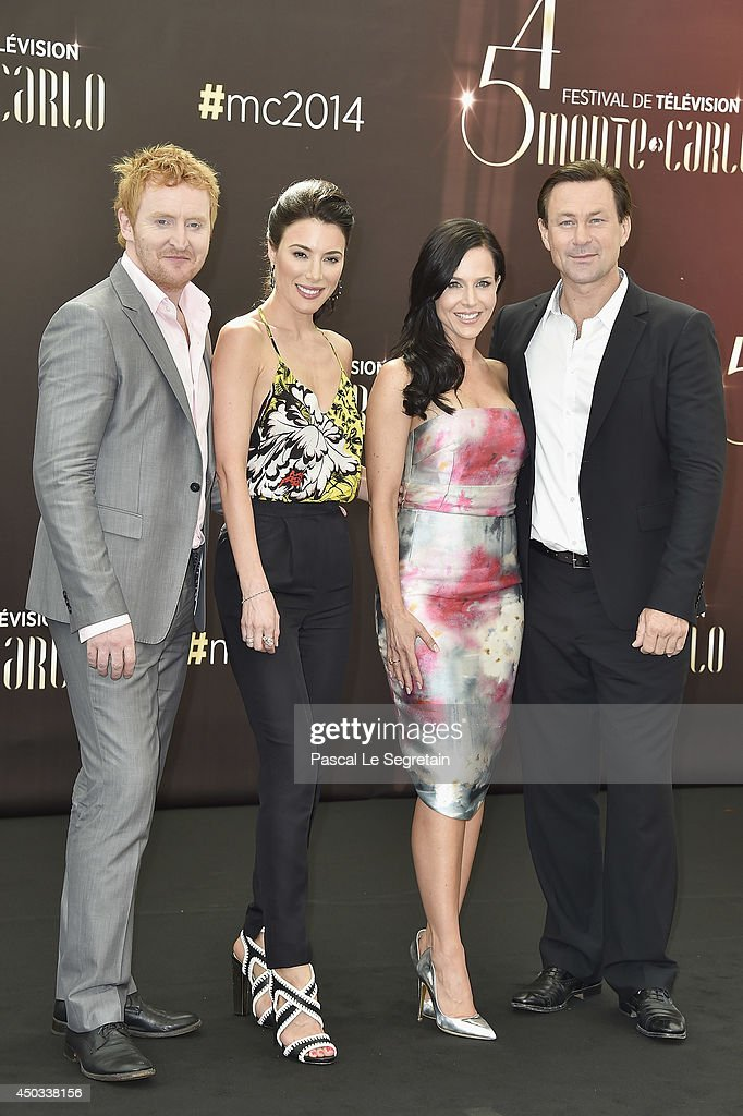 <a gi-track='captionPersonalityLinkClicked' href=/galleries/search?phrase=Tony+Curran&family=editorial&specificpeople=626484 ng-click='$event.stopPropagation()'>Tony Curran</a>, <a gi-track='captionPersonalityLinkClicked' href=/galleries/search?phrase=Jaime+Murray+-+Actress&family=editorial&specificpeople=217455 ng-click='$event.stopPropagation()'>Jaime Murray</a>, <a gi-track='captionPersonalityLinkClicked' href=/galleries/search?phrase=Julie+Benz&family=editorial&specificpeople=217554 ng-click='$event.stopPropagation()'>Julie Benz</a> and <a gi-track='captionPersonalityLinkClicked' href=/galleries/search?phrase=Grant+Bowler&family=editorial&specificpeople=453292 ng-click='$event.stopPropagation()'>Grant Bowler</a> attend a photocall at Grimaldi forum on June 9, 2014 in Monte-Carlo, Monaco.