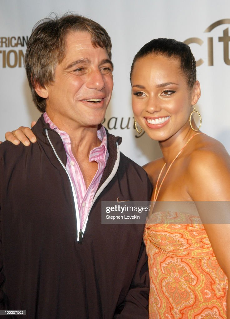 Tony Danza and Alicia Keys during Fashion Rocks 2004 'An Unprecedented Night of Style and Sound' Arrivals at Radio City Music Hall in New York City...