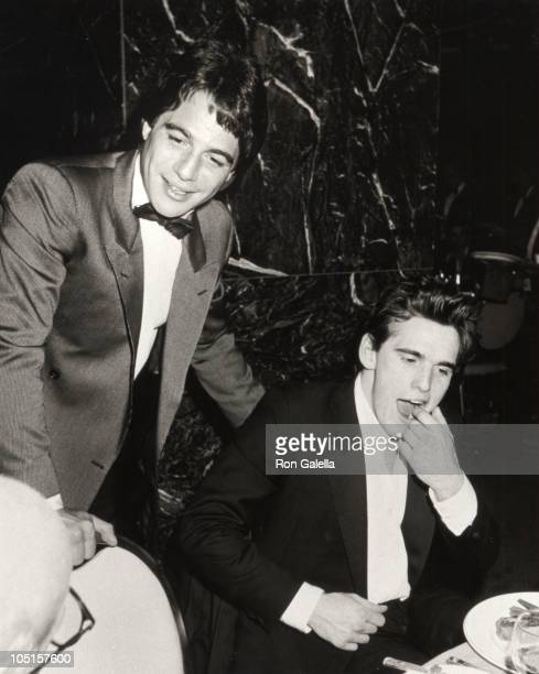 Tony Danza and Matt Dillon during Post Party for 'Night of 100 Stars' at The New York Hilton in New York City NY United States