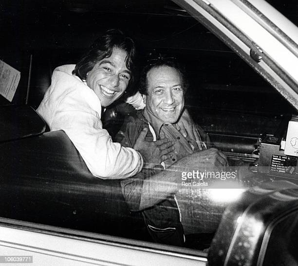 Tony Danza and Taxi Driver during Tony Danza and Taxi Driver Outside the Water Club May 29 1985 at Water Club in New York City New York United States