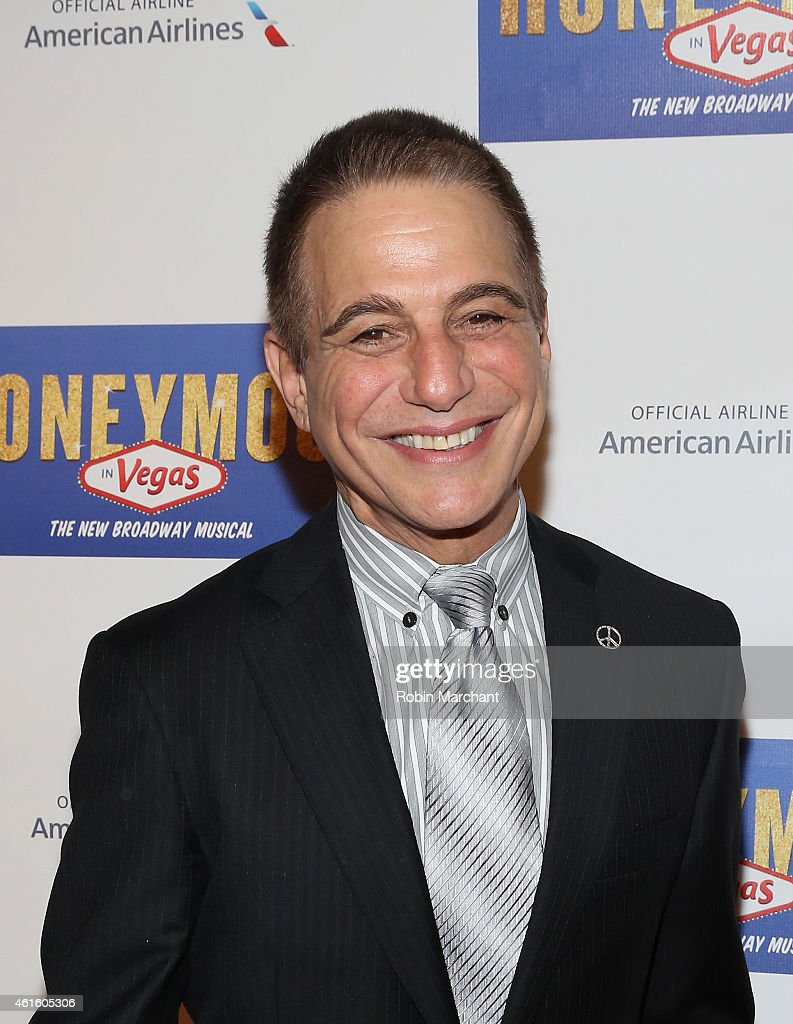 Tony Danza attends 'Honeymoon In Vegas' Broadway Opening Night After Party at Hard Rock Cafe Times Square on January 15 2015 in New York City