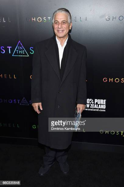 Tony Danza attends the 'Ghost In The Shell' premiere hosted by Paramount Pictures DreamWorks Pictures at AMC Lincoln Square Theater on March 29 2017...