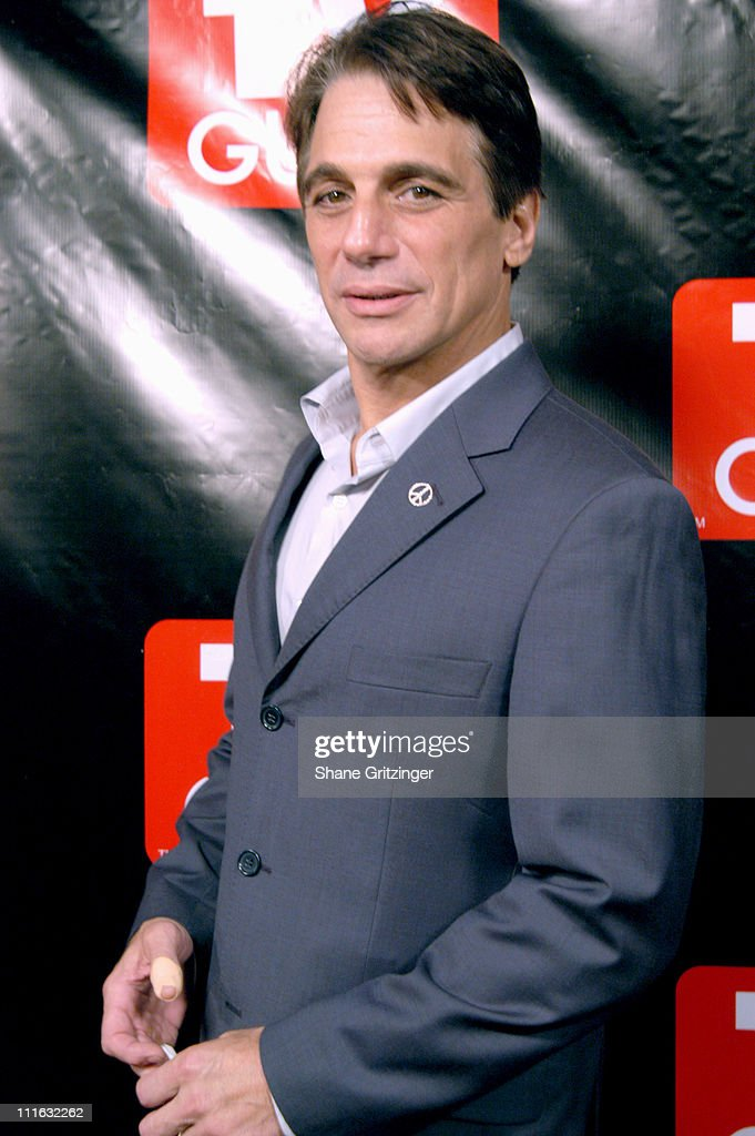 Tony Danza during Launch of the New Big TV Guide Magazine Arrivals at Home and Guest House in New York City New York United States