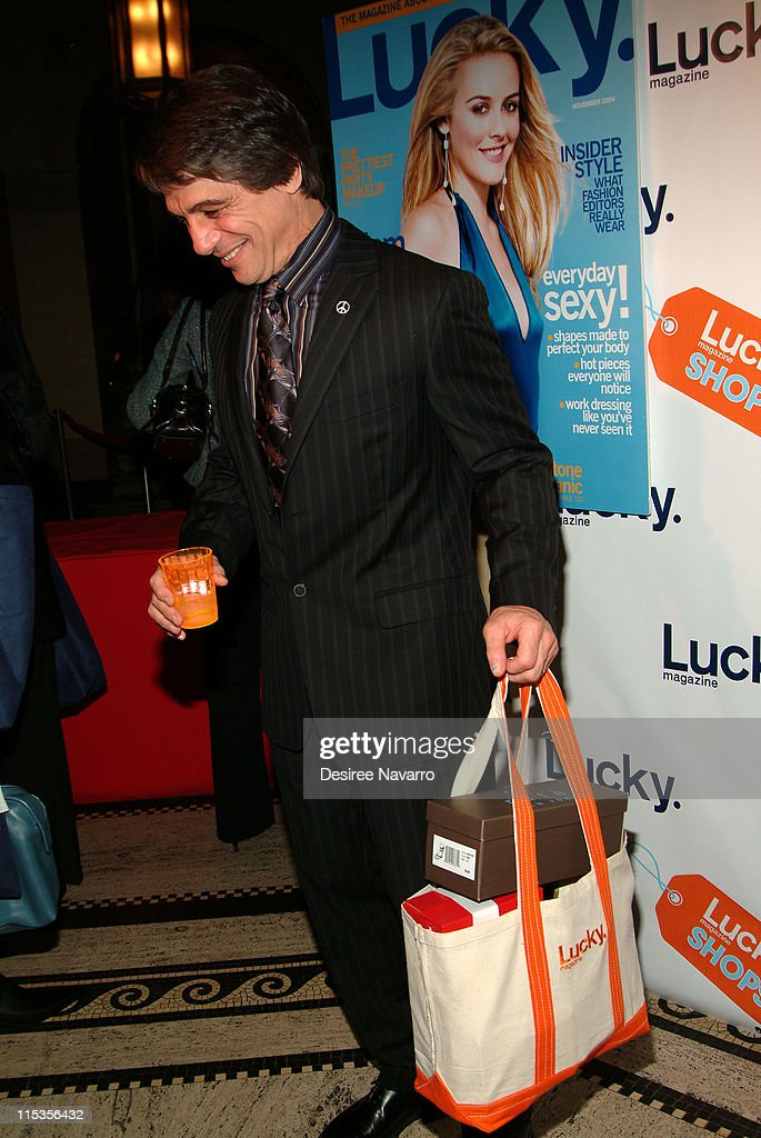 Tony Danza during Lucky Magazine Hosts 'Lucky Shops' Fundraiser Benefiting The Robin Hood Foundation at Gotham Hall in New York City New York United...