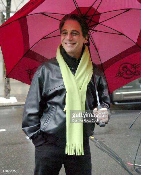 Tony Danza during The Children's Aid Society's 19th Annual 'Miracle on Madison Avenue' at Madison Avenue in New York City New York United States