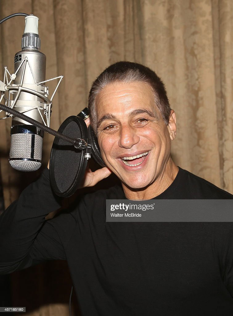 Tony Danza during the Original Broadway Cast Recording for 'Honeymoon in Vegas' at Manhattan Center Studios on October 13 2014 in New York City