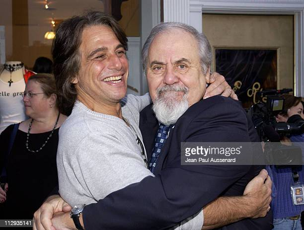 Tony Danza George Schlatter during Opening of 'Belle Gray' Lisa Rinna's New Clothing Boutique at Belle Gray in Sherman Oaks California United States