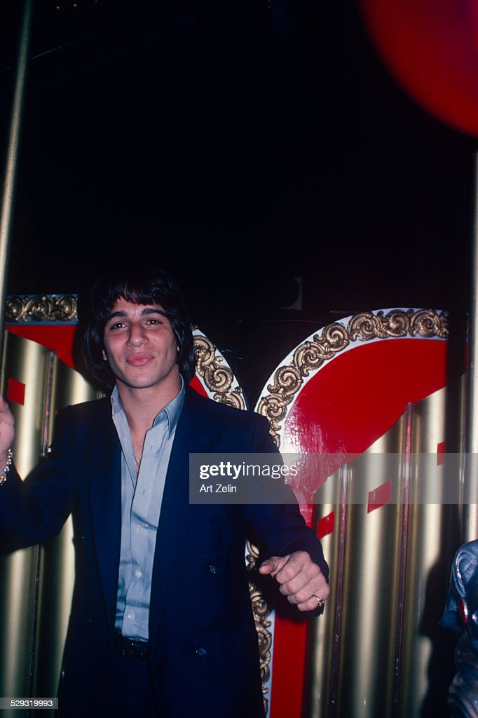 Tony Danza on a carousel circa 1970 New York