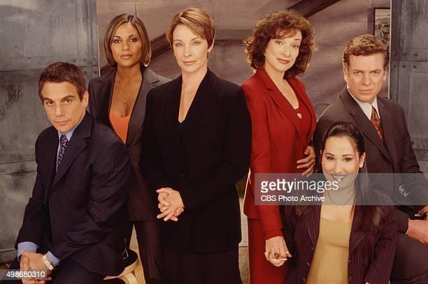 Tony Danza Salli Richardson Kathleen Quinlan Dixie Carter Meredith Eaton and Christopher McDonald star in FAMILY LAW