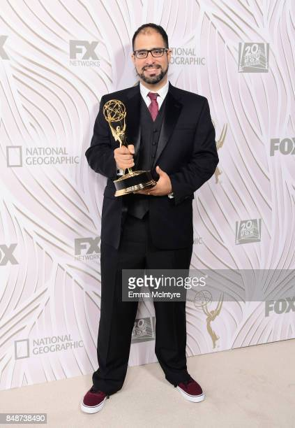 Tony Diaz attends FOX Broadcasting Company Twentieth Century Fox Television FX And National Geographic 69th Primetime Emmy Awards After Party at...