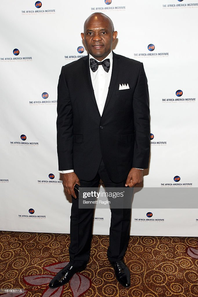 Tony Elumelu attends Africa-America Institute 60th Anniversary Awards Gala at New York Hilton on September 25, 2013 in New York City.