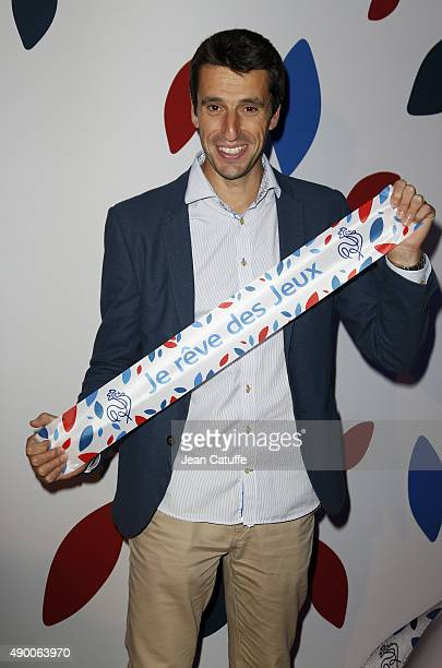 Tony Estanguet attends the launch party for 'Je Reve Des Jeux' 'I dream about the Games' a campaign to promote Paris' bid for the Olympic Games in...