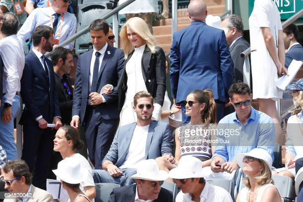 Tony Estanguet Nicole Kidman Football player Kevin Trapp Izabel Goulart and Rugby player Dan Carter attend Actress Nicole Kidman and Cochairman of...
