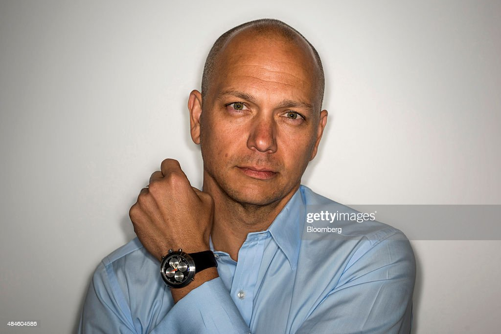 <a gi-track='captionPersonalityLinkClicked' href=/galleries/search?phrase=Tony+Fadell&family=editorial&specificpeople=8578729 ng-click='$event.stopPropagation()'>Tony Fadell</a>, co-founder and chief executive officer of Nest Inc., stands for a photograph while wearing a Ikepod chronograph watch in Palo Alto, California, U.S., on Tuesday, Aug. 18, 2015. When Fadell isn't rethinking basic parts of your home, he collects watches. But he doesn't just like them, he has a seven-figure collection, and, more important, he really knows watches. Photographer: David Paul Morris/Bloomberg via Getty Images