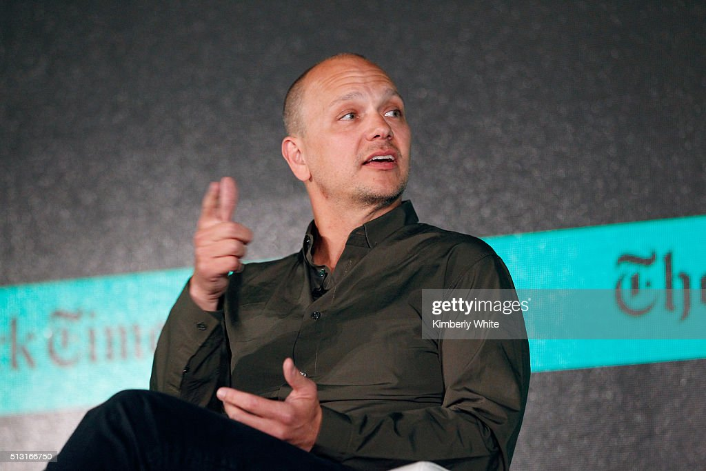 <a gi-track='captionPersonalityLinkClicked' href=/galleries/search?phrase=Tony+Fadell&family=editorial&specificpeople=8578729 ng-click='$event.stopPropagation()'>Tony Fadell</a>, Founder and CEO of Nest and SVP of Google, speaks onstage at The New York Times New Work Summit on February 29, 2016 in Half Moon Bay, California.