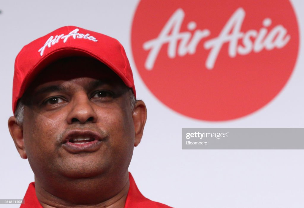 AirAsia Bhd. Chief Executive Officer Tony Fernandes News Conference