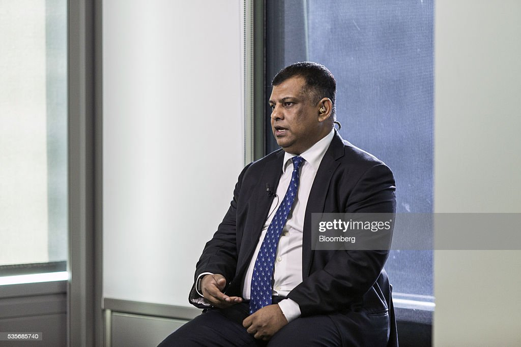 <a gi-track='captionPersonalityLinkClicked' href=/galleries/search?phrase=Tony+Fernandes&family=editorial&specificpeople=2103805 ng-click='$event.stopPropagation()'>Tony Fernandes</a>, group chief executive officer of AirAsia Bhd., speaks during a Bloomberg Television interview in Kuala Lumpur, Malaysia, on Monday, May 30, 2016. AirAsia, the region's biggest discount carrier, got an offer of about $1 billion to buy its aircraft-leasing company, amid a surge in the business in the continent. Photographer: Charles Pertwee/Bloomberg via Getty Images