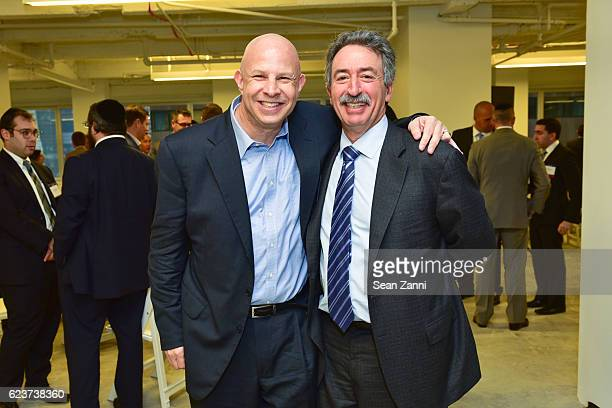 Tony Fineman and Jonathan Mechanic attend The Commercial Observer Financing Commercial Real Estate at 666 Fifth Avenue on November 15 2016 in New...
