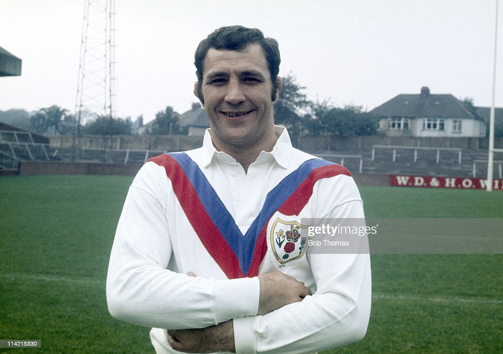 Tony Fisher, Great Britain Rugby League World Cup touring team, circa 1970.